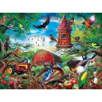 Master-Pieces-31916 Pièces XXL - Farmland Frolic