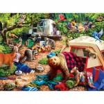 Master-Pieces-31997 Pièces XXL - Campsite Trouble