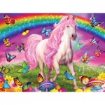 Master-Pieces-32003 Pièces XXL - Glow in the Dark - Rainbow World