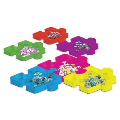 Master-Pieces-51695 Sort & Save - 6 Boites de Tri pour Puzzles