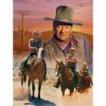 Master-Pieces-71239 John Wayne - The Cowboy Way