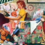 Master-Pieces-71509 Norman Rockwell: The Babysitter