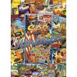 Master-Pieces-71661 Puzzle en Valisette - See America