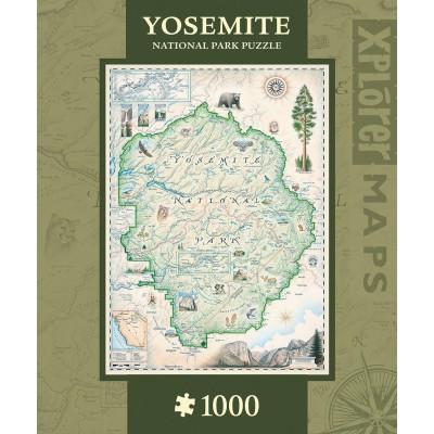 Master-Pieces-71699 Xplorer Maps - Yosemite
