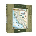 Master-Pieces-71706 Xplorer Maps - California
