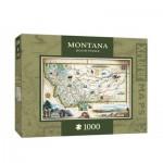 Master-Pieces-71708 Xplorer Maps - Montana