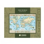 Master-Pieces-71710 Xplorer Maps - The World