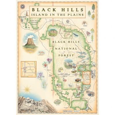 Master-Pieces-71798 Black Hills Map