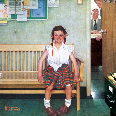Master-Pieces-71806 Norman Rockwell - The Shiner