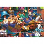 Master-Pieces-71827 Pièces XXL - Knittin Kittens