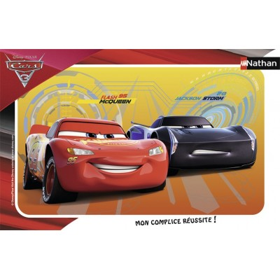 Nathan-86065 Puzzle Cadre - Cars 3