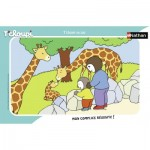 Nathan-86131 Puzzle Cadre - Tchoupi