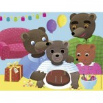 Nathan-86380 Petit Ours Brun