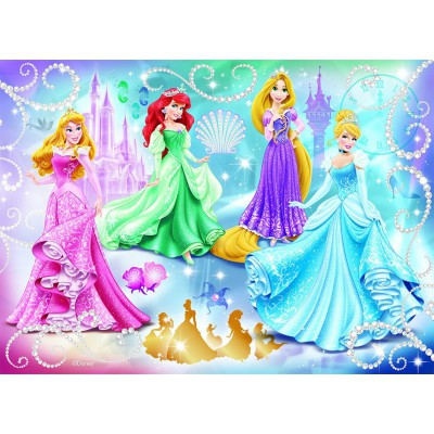 Nathan-86720 Disney Princess : Princesses étincelantes