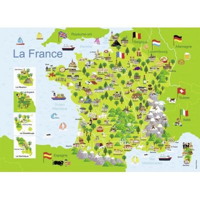 Nathan-86732 Carte de France