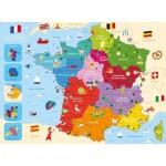 Nathan-86875 Carte de France