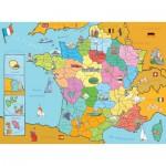 Nathan-86933 Carte de France