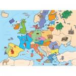 Nathan-86934 Carte d'Europe