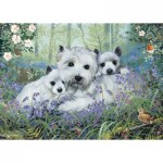 Otter-House-Puzzle-73338 Westies In The Wood