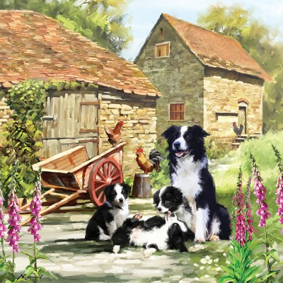 Otter-House-Puzzle-73339 Border Collie Barn