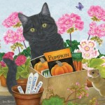 Otter-House-Puzzle-73341 Black Cat 'Pumpkin'