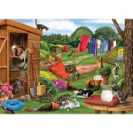 Otter-House-Puzzle-73563 Garden Cats