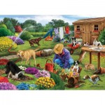 Otter-House-Puzzle-73564 Garden Dogs