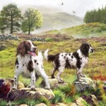Otter-House-Puzzle-74132 Spaniels On The Moor