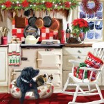 Otter-House-Puzzle-74138 Christmas Kitchen