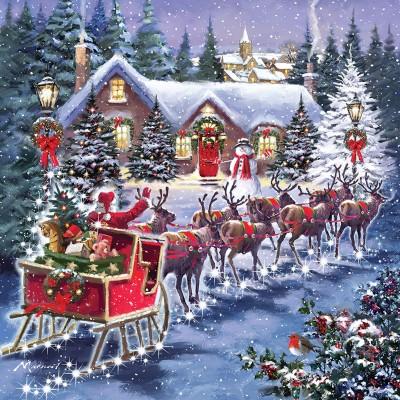 Otter-House-Puzzle-74142 Santa's Sleigh