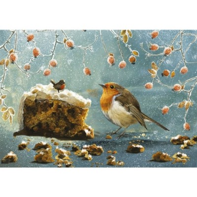 Otter-House-Puzzle-74458 Christmas Robin