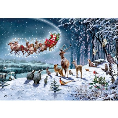 Otter-House-Puzzle-74459 Magical Christmas