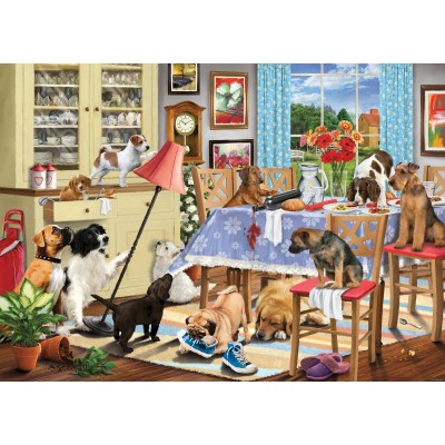 Otter-House-Puzzle-74747 Dogs In The Dining Room