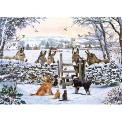 Otter-House-Puzzle-75092 Donkey Encounter