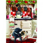 Otter-House-Puzzle-75802 Christmas Kitchen