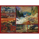 Cobble-Hill-51011 J.E.H. MacDonald - Collage - MacDonald Collection
