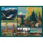 Cobble-Hill-51012 Franklin Carmichael - Collage - Carmichael Collection