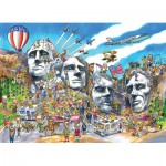 Cobble-Hill-53503 DoodleTown : Mount Rushmore