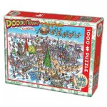 Cobble-Hill-53505 DoodleTown: 12 Days of Christmas