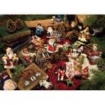 Cobble-Hill-54323 Pièces XXL - Décorations de Noël