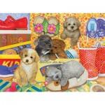 Cobble-Hill-54587 Pièces XXL - Amy Rosenberg - Hush Puppies