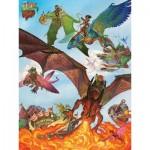 Cobble-Hill-54593 Pièces XXL - Dragon Flight