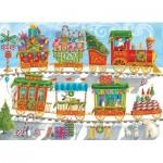 Cobble-Hill-54608 Pièces XXL - Christmas Train