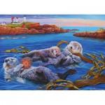 Cobble-Hill-54619 Pièces XXL - Sea Otter Family