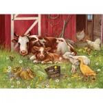 Cobble-Hill-54630 Pièces XXL - Barnyard Babies