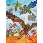 Cobble-Hill-54636 Pièces XXL - Dragon Flight