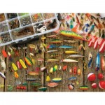 Cobble-Hill-57149 Pièces XXL - Fishing Lures