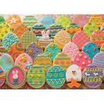 Cobble-Hill-80027 Easter Eggs