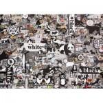 Cobble-Hill-80033 Black & White: Animals