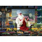Cobble-Hill-80110 Santa's Hobby